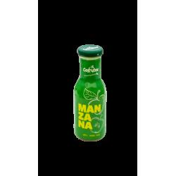 Zumo de manzana en botella...