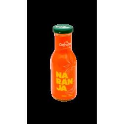 Zumo de naranja en botella...