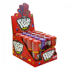 Bazooka push pop, 20 unidades.