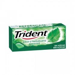 Chicle Trident gragea sabor...